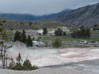 Exterior   Mammoth Hot Springs & Cabins - Inside the Park