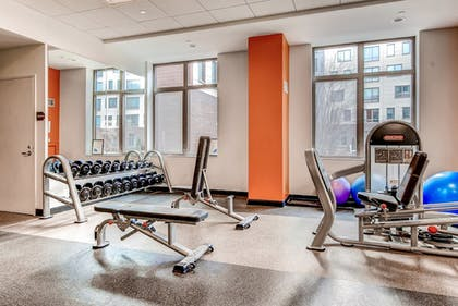 Fitness Facility | Global Luxury Suites at Kendall Square