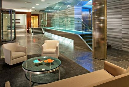 Lobby Sitting Area | Global Luxury Suites at Kendall Square