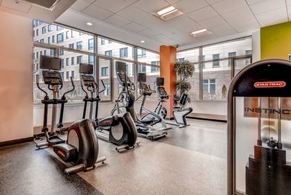Gym | Global Luxury Suites at Kendall Square