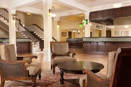 Reception | Lake Hotel and Cottages - Inside the Park