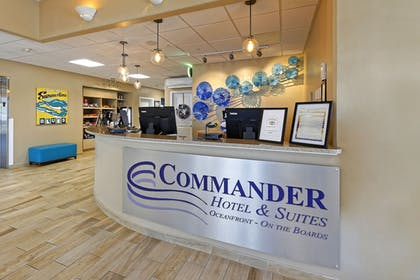 Check-in/Check-out Kiosk | Commander Hotel & Suites