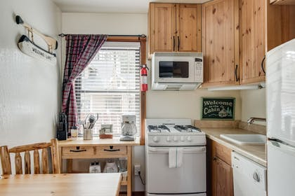 In-Room Kitchen | Franciscan Lakeside Lodge