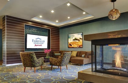 Lobby Sitting Area | Fairfield Inn & Suites San Diego Carlsbad
