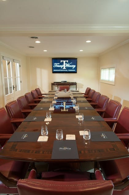 Meeting Facility | Albemarle Estate at Trump Winery