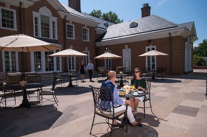 Outdoor Dining | Albemarle Estate at Trump Winery