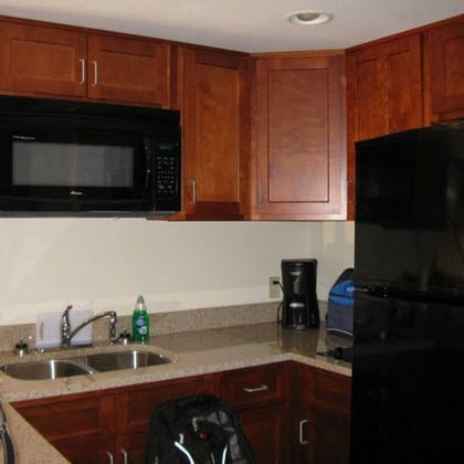 In-Room Kitchen | Put-In-Bay Resort and Conference Center