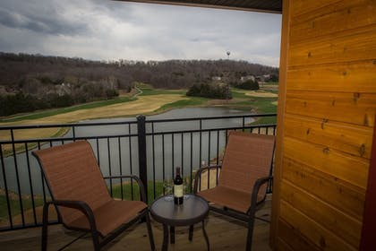 Balcony View | The Lodge at Old Kinderhook Golf Resort