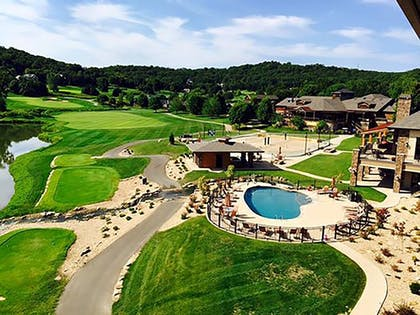 Aerial View | The Lodge at Old Kinderhook Golf Resort