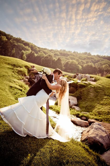 Outdoor Wedding Area | The Lodge at Old Kinderhook Golf Resort