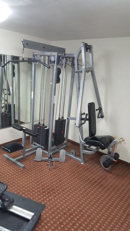 Fitness Facility | AmericInn by Wyndham Johnston Des Moines