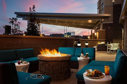 Terrace/Patio | SpringHill Suites by Marriott Kennewick Tri-Cities