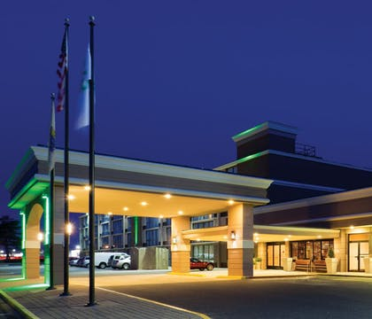 Hotel Front - Evening/Night | Days Hotel by Wyndham Toms River Jersey Shore