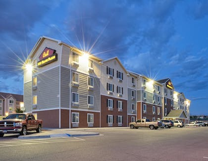 Hotel Front - Evening/Night   Value Place El Paso