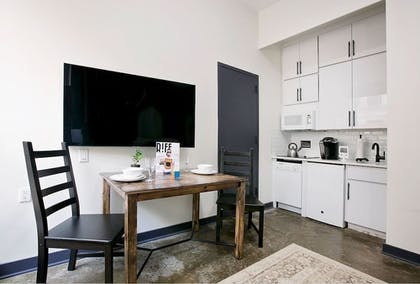 In-Room Kitchenette | RIFF Downtown