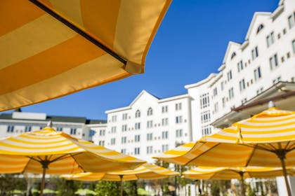 Terrace/Patio | Dollywood's DreamMore Resort