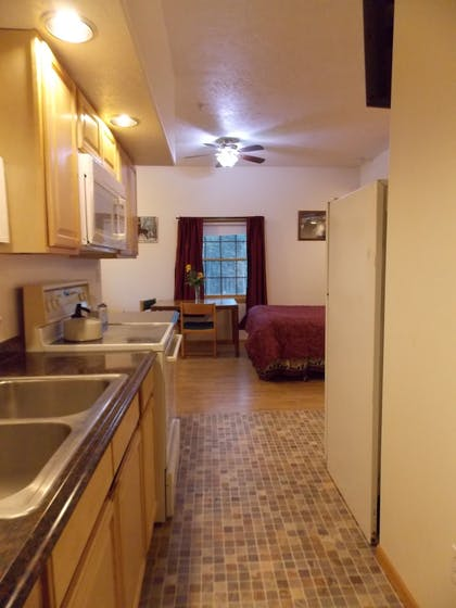 In-Room Kitchen | Fairbanks Extended Stay