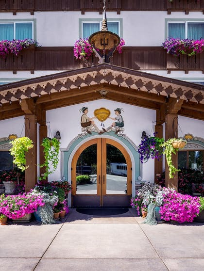 Hotel Entrance | Bavarian Lodge