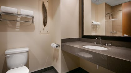 Bathroom | Best Western Premier Boulder Falls Inn