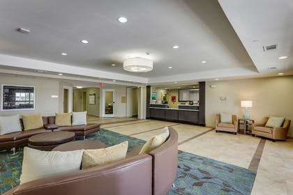 Lobby Sitting Area | Candlewood Suites College Station At University