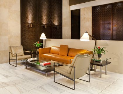 Lobby Sitting Area | Porter Square Hotel