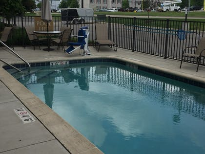 Outdoor Pool | Candlewood Suites St. Clairsville