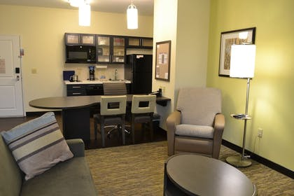 Guestroom | Candlewood Suites St. Clairsville