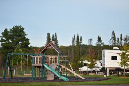 Childrens Play Area - Outdoor   Ho-Chunk Casino Hotel - Wisconsin Dells
