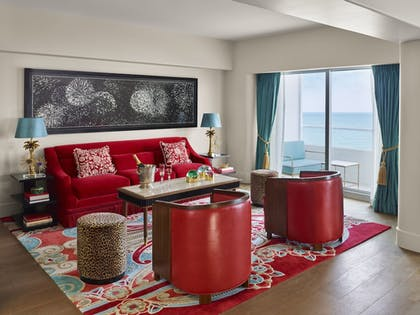 Living Area | Faena Hotel Miami Beach