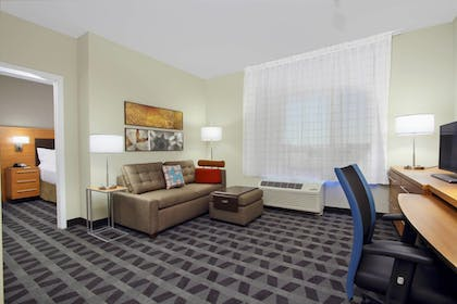 Guestroom   TownePlace Suites Dallas McKinney