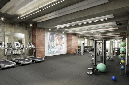 Fitness Facility | Lyric at 70 Pine