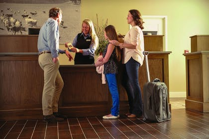 Check-in/Check-out Kiosk | Village Hotel on Biltmore Estate