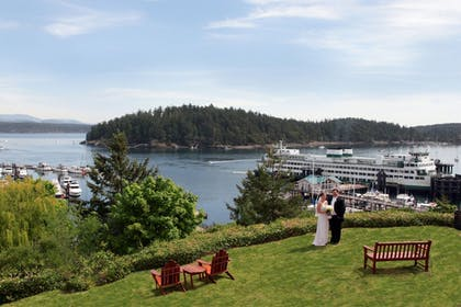 Aerial View | Friday Harbor House