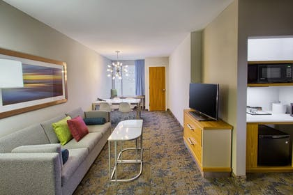 Living Area | Springhill Suites by Marriott Wilmington Mayfaire