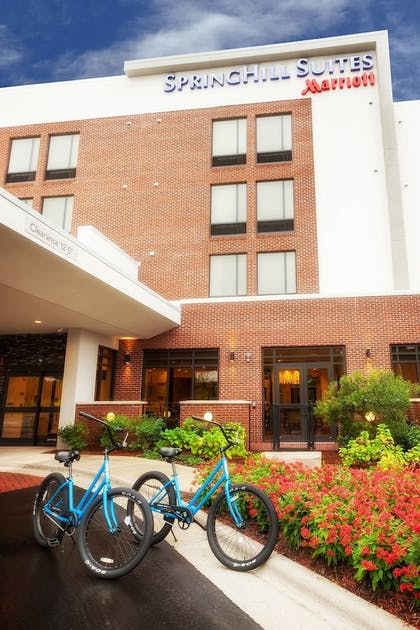 Hotel Front | Springhill Suites by Marriott Wilmington Mayfaire