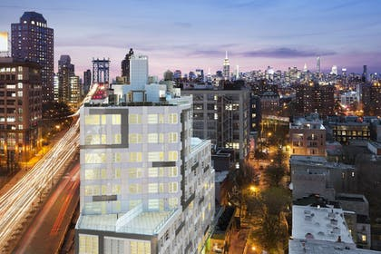Front of Property - Evening/Night | The Tillary Hotel Brooklyn