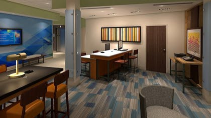 Lobby Lounge | Holiday Inn Express & Suites Tulsa Midtown