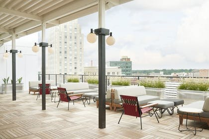 Terrace/Patio | The Durham Hotel