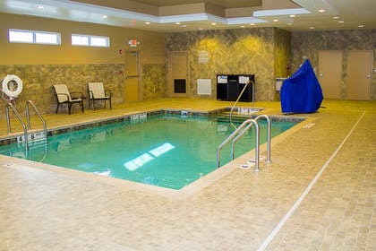 Indoor Pool | Microtel by Wyndham Penn Yan Finger Lakes Region