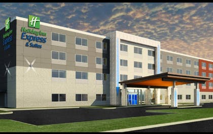 Exterior   Holiday Inn Express & Suites Dearborn SW - Detroit Area