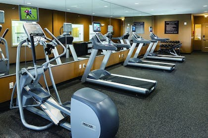 Fitness Facility | ClubHouse Hotel & Suites - Fargo