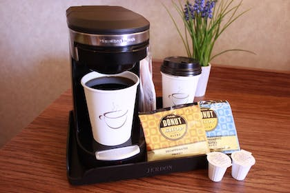 In-Room Coffee | The Rustic Inn