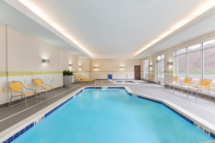 Indoor Pool | Fairfield Inn & Suites Pittsburgh Airport/Robinson Township