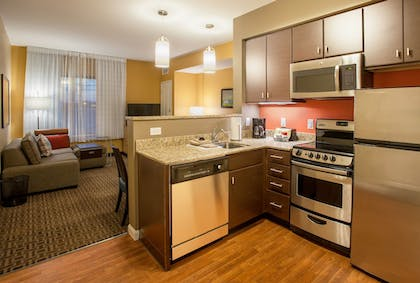 In-Room Kitchen | TownePlace Suites Minneapolis Mall of America