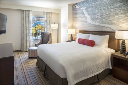   1 Bedroom Suite, 1 King Bed with Bunk Bed, Waterpark view   Courtyard by Marriott Anaheim Theme Park Entrance