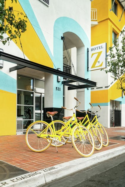 Bicycling | Staypineapple, Hotel Z, Gaslamp San Diego