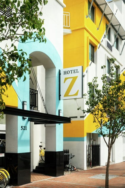 Hotel Entrance | Staypineapple, Hotel Z, Gaslamp San Diego