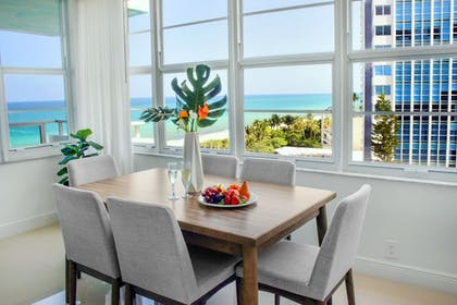 In-Room Dining | Seacoast Suites on Miami Beach