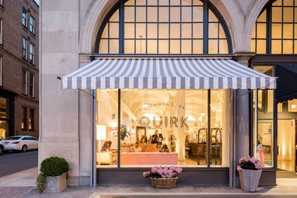 Front of Property - Evening/Night | Quirk Hotel Richmond