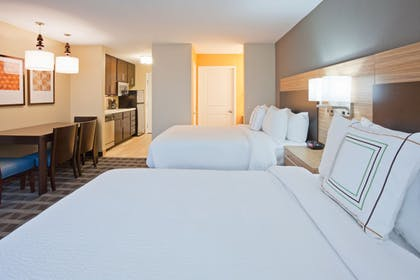Guestroom | Towneplace Suites Sioux Falls South